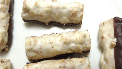 食物繊維たっぷり-グラノーラチョコ-ココナッツ味(セブンイレブン)3