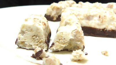 食物繊維たっぷり-グラノーラチョコ-ココナッツ味(セブンイレブン)11