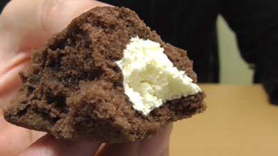 ロールちゃん-チョコバナナ-チョコスポンジとバナナクリーム(山崎製パン)14