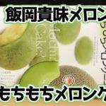 千葉-飯岡貴味メロン-もちもちメロンケーキ(長登屋)