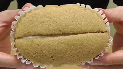 ほうじ茶ラテ風スチームケーキ(第一パン)3