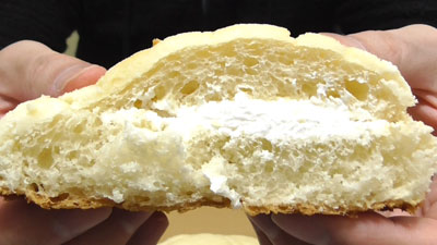 マスカルポーネ風味-メロンパン(第一パン)11