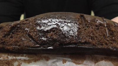 しっとり濃密-ベルギー産チョコ-ガトーショコラ蒸し(第一パン)7