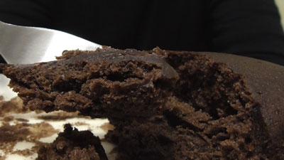 しっとり濃密-ベルギー産チョコ-ガトーショコラ蒸し(第一パン)15