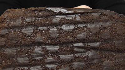しっとり濃密-ベルギー産チョコ-ガトーショコラ蒸し(第一パン)9