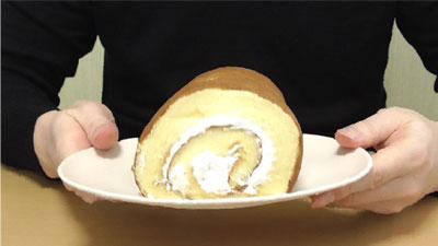 スイスロール【バニラクリーム】(ヤマザキ)4