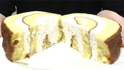 さつまいもと醤油のロールケーキ(ヤマザキ)11