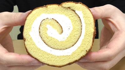 さつまいもと醤油のロールケーキ(ヤマザキ)5