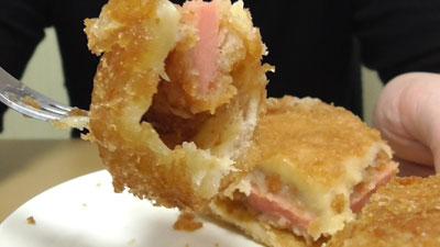 魚肉ソーセージ風カツ-あげぱん-からしマヨネーズ風味(ヤマザキ)14