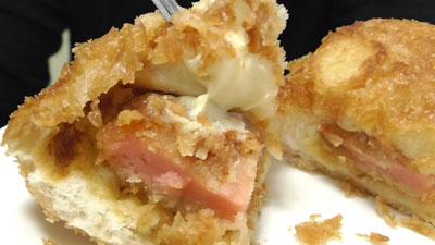 魚肉ソーセージ風カツ-あげぱん-からしマヨネーズ風味(ヤマザキ)18