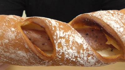 ロングハムフランスパン(ヤマザキ)8