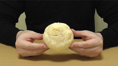 わらび餅入りのきなこクリームパン(NewDaysニューデイズ・清水屋)3