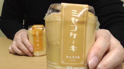 ミヤコケーキ(キャラメル)4