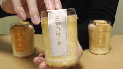 ミヤコケーキ(キャラメル)6