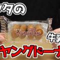 ミヤタのヤングドーナツ 牛乳入り(宮田製菓)、子供向けドーナツから始まり誰からも愛される商品に^^