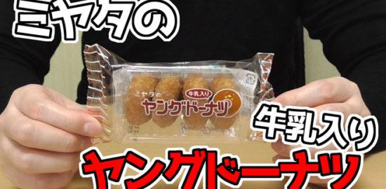 ミヤタのヤングドーナツ-牛乳入り(宮田製菓)