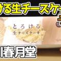 とろける生チーズケーキチョコ(押川春月堂)、チーズケーキに純生チョコクリーム^^