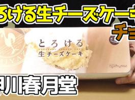 とろける生チーズケーキチョコ(押川春月堂)