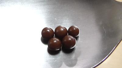 コーヒー味チョコ-ミルク味チョコ(オリオン)9