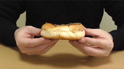 お好み焼きみたいなパン-オタフクソース使用焼きそば入り(ヤマザキ)4