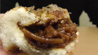 お好み焼きみたいなパン-オタフクソース使用焼きそば入り(ヤマザキ)15