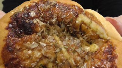 お好み焼きみたいなパン-オタフクソース使用焼きそば入り(ヤマザキ)8